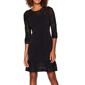 Michael Kors Lace Flounce Dress